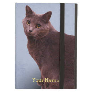 Russian Blue Cat Cover For iPad Air