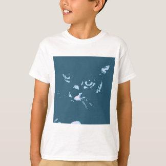 Russian Blue Cat Pop Art T-Shirt