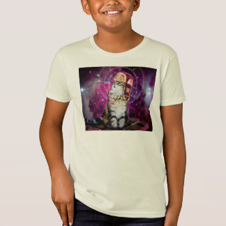 russian cat in space T-Shirt