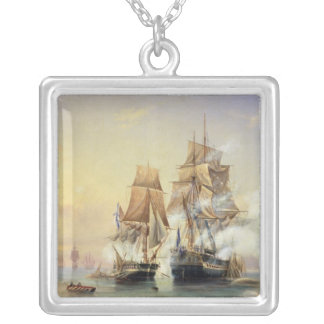Russian Cutter Mercury Silver Plated Necklace