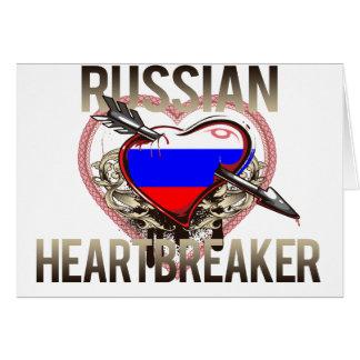Russian Heartbreaker Card