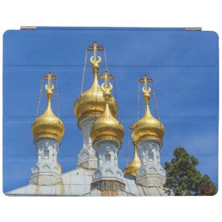 Russian or orthodox church, Geneva, Switzerland iPad Cover