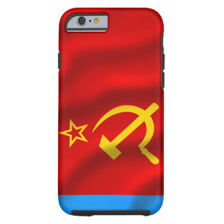Russian Soviet Fed. Socialist Rep. iPhone 6 case Tough iPhone 6 Case