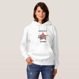 Russian tanks? No thanks! Hooded jumper F Tee Shirts