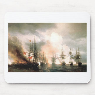 Russian-Turkish Sea Battle of Sinop Mouse Pad
