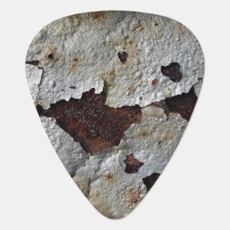 Rusted Metal Guitar Pick