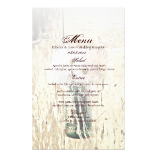 rustic barn wood country daisy wedding stationery