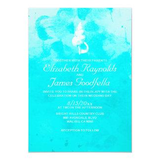 Rustic Beach Seashells Destination Wedding Invite