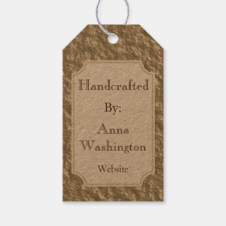 Rustic Bronze Handcrafted Tag
