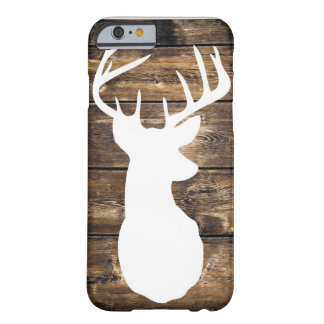 Rustic Buck Barely There iPhone 6 Case