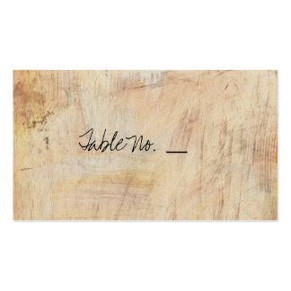 Rustic Cherry Blossom - Wedding Guest Escort Cards Pack Of Standard Business Cards