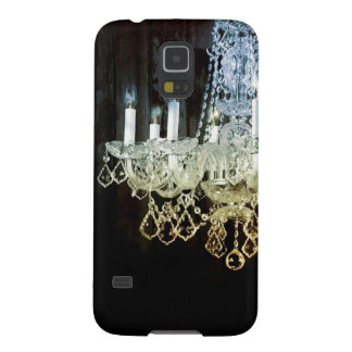 Rustic Chic Western country Barn Wood chandelier Galaxy S5 Covers