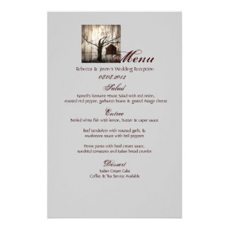 Rustic country Red Barn Winter Wedding Stationery