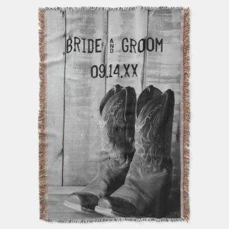 Rustic Cowboy Boots Western Wedding