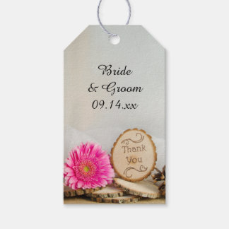 Wedding Thank You Tags Gift Tags Zazzle.co.nz