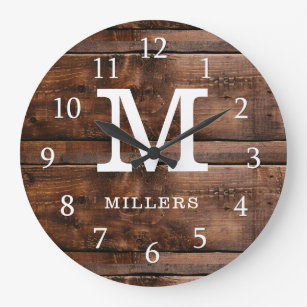 Farmhouse Wall Clocks Zazzle Co Nz