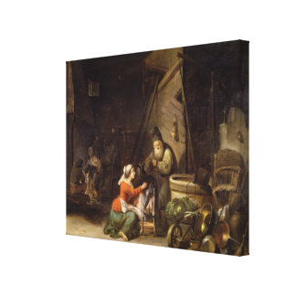 Rustic Interior Canvas Print