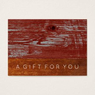 Rustic Minimal | Men's Gift Certificate