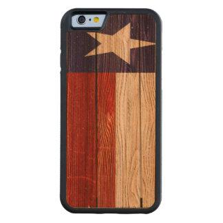 Rustic Patriotic Texas Flag Cherry iPhone 6 Bumper