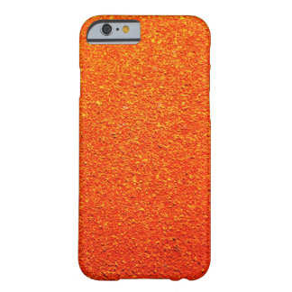 Rustic Rigid Tough Wall Orange Color Royal Barely There iPhone 6 Case