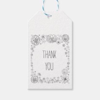 Rustic wedding favor tags