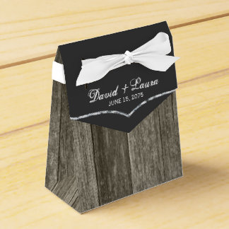 Rustic Wedding Favour Box