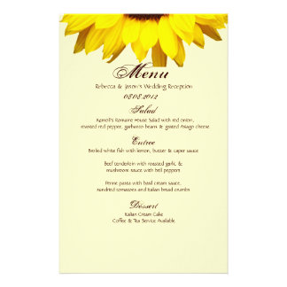Rustic Western Country Burlap Sunflower Wedding Stationery