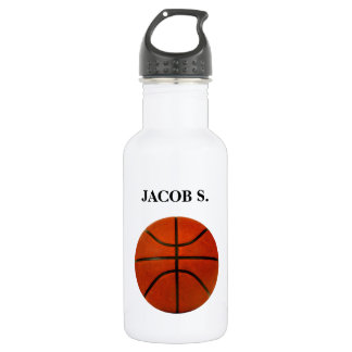 Rustic Worn Basketball 532 Ml Water Bottle