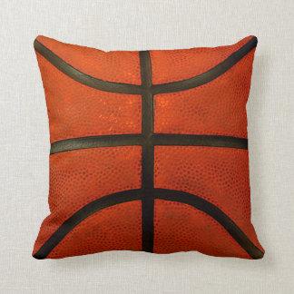 Rustic Worn Basketball Throw Pillow Throw Cushions