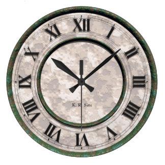 Rustical Rusty Large Clock