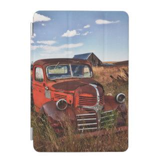 Rusting orange Dodge truck with abandoned farm iPad Mini Cover