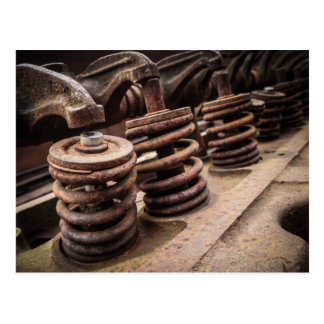 Rusty Engine Block Postcard
