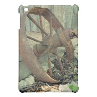 Rusty Old Wheel iPad Mini Cases