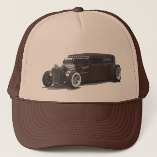 Rusty Rat Sedan Trucker Hat