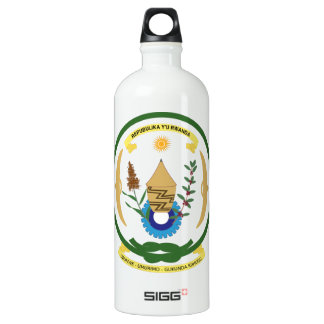 Rwanda Coat of Arms SIGG Traveller 1.0L Water Bottle