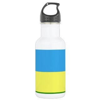 Rwanda Flag 532 Ml Water Bottle