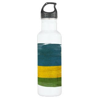 Rwanda Flag 710 Ml Water Bottle