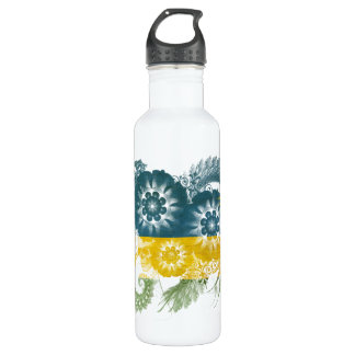 Rwanda Flag 710 Ml Water Bottle