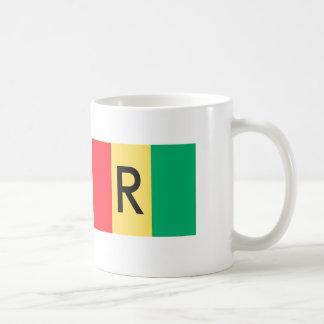 Rwanda Flag Coffee Mug