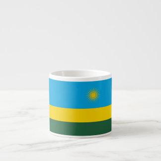 Rwanda Flag Espresso Cup
