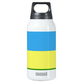 Rwanda Flag Insulated Water Bottle