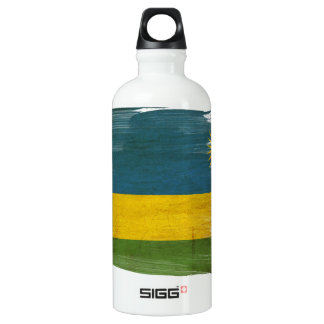 Rwanda Flag SIGG Traveller 0.6L Water Bottle