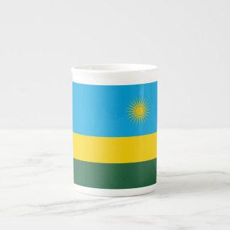 Rwanda Flag Tea Cup