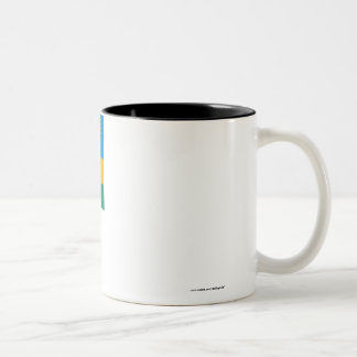 Rwanda Flag Two-Tone Coffee Mug