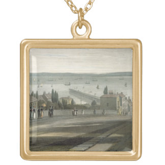 Ryde, from 'A Voyage Around Great Britain Undertak Gold Plated Necklace