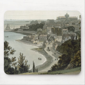 Rye, East Sussex, from 'A Voyage Around Great Brit Mouse Pad