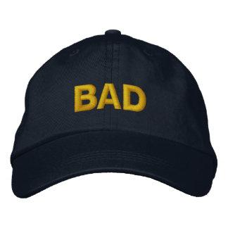 """Ryuichi Sakuma """"BAD"""" Hat Embroidered Hat"""