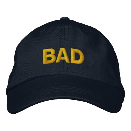 "Ryuichi Sakuma ""BAD"" Hat Embroidered Hat"