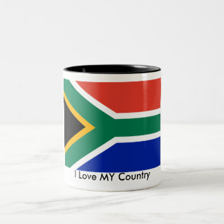 S Africa Flag The MUSEUM Zazzle I Love MY Country Coffee Mugs