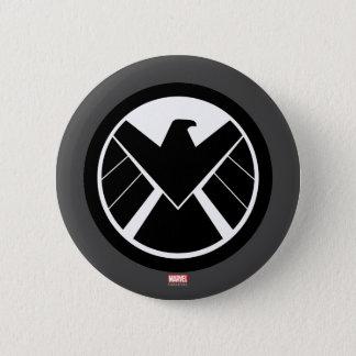 S.H.I.E.L.D Icon 6 Cm Round Badge